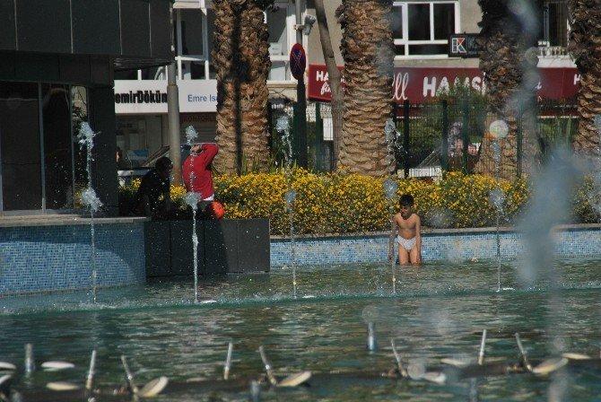 Aydın'da Sıcaklar Da Çocukların Tehlikeli Serinliği De Erken Başladı