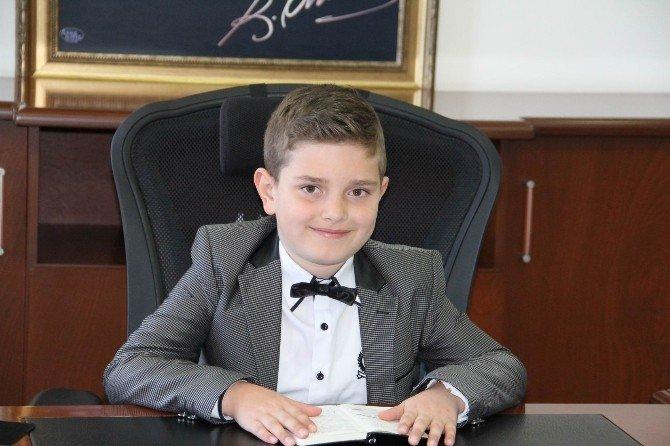 Babaeski'nin Yönetimi Çocuklara Emanet