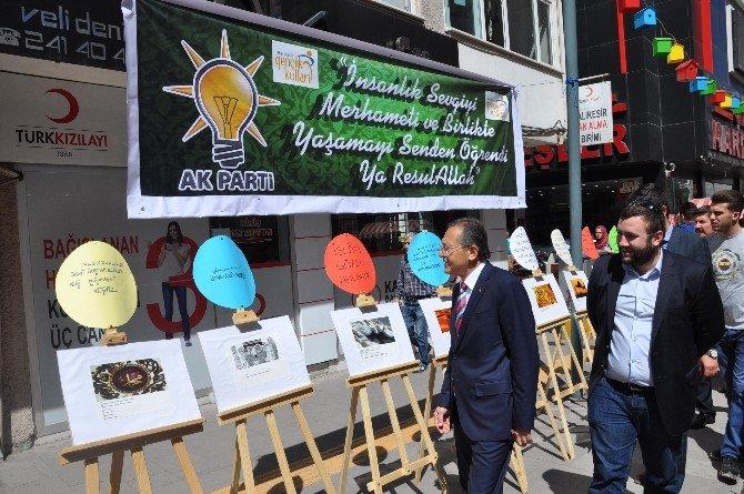 AK Gençlerden Kutlu Doğum Haftası Etkinliği