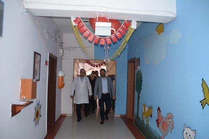 Hastanede 23 Nisan Kutlandı