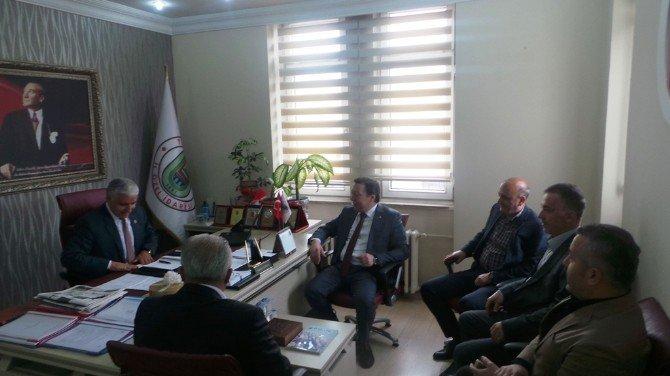 Bartın TSO'dan, İl Genel Meclisi'ne Ziyaret