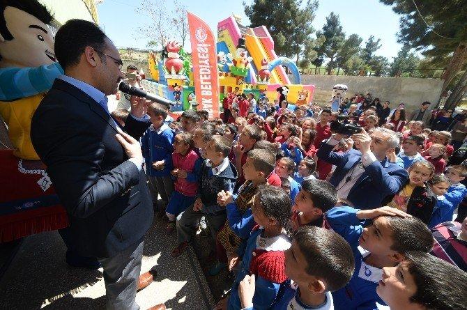 Uşak'ta Çocuk Şenlikleri Bir Köyde Başladı