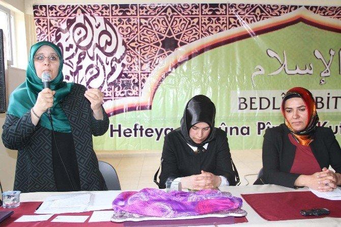 Bitlis'dte Kutlu Doğum Haftası Etkinliği