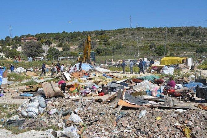 İzmir'de Çadır Operasyonu