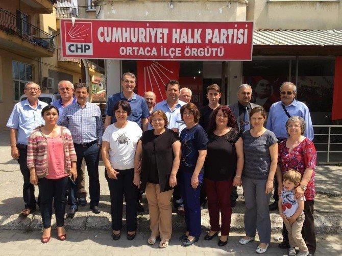CHP Muğla Denetmeni Ortaca Ve Dalaman'da