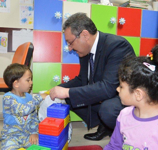 ERÜ Çocuk Hastanesi'nde 23 Nisan Coşkusu