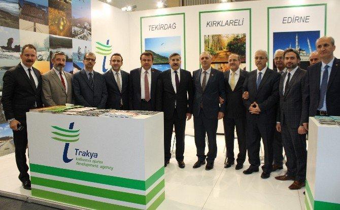Trakya, Travel EXPO Ankara Fuarı'nda Tanıtıldı