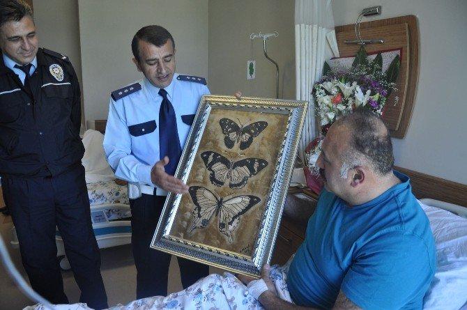 Başbakanın Övgüyle Bahsettiği İnegöllü Polise Başarı Belgesi