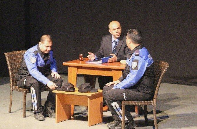 Samsun Polisi Hem Yazdı Hem Oynadı