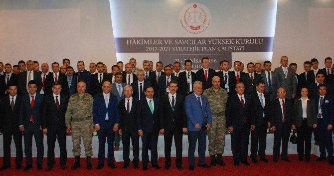 HSYK Üyeleri Şanlıurfa'da Toplandı