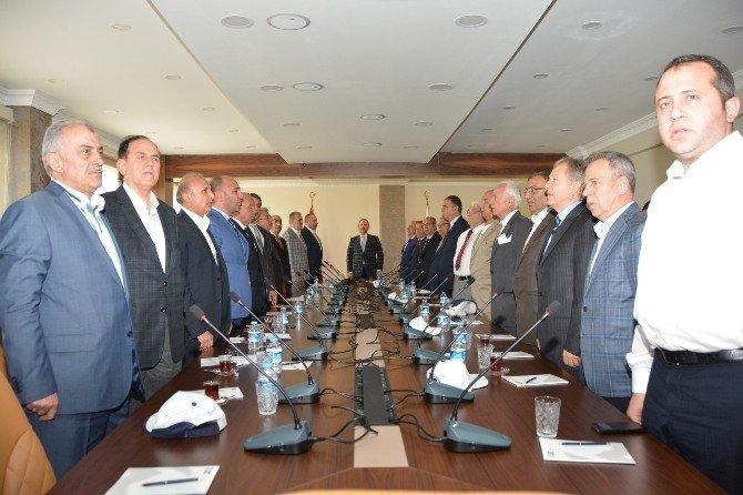 Kardeş Aydın Ve İstanbul Borsaların Fidan Dikme Töreni