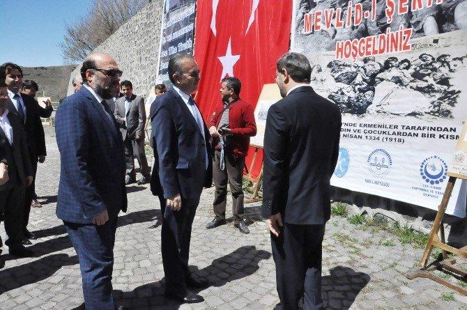 Ermenilerin Kars Ulu Cami'de Diri Diri Yaktığı 286 Türk Anıldı