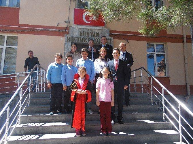 Bünyan'da 23 Nisan Etkinlikleri