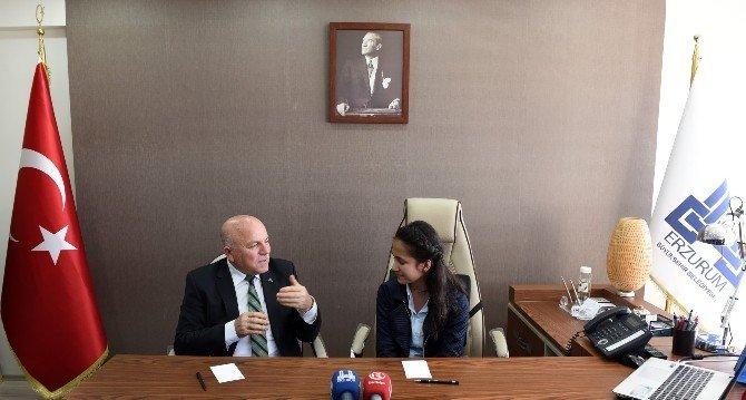 Küçük Başkan'dan Erzurum İçin Üretim Önerisi