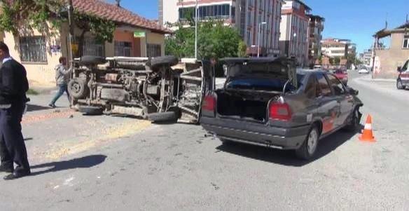 Mahalle Arasındaki Aşırı Hız Kazaya Sebep Oldu