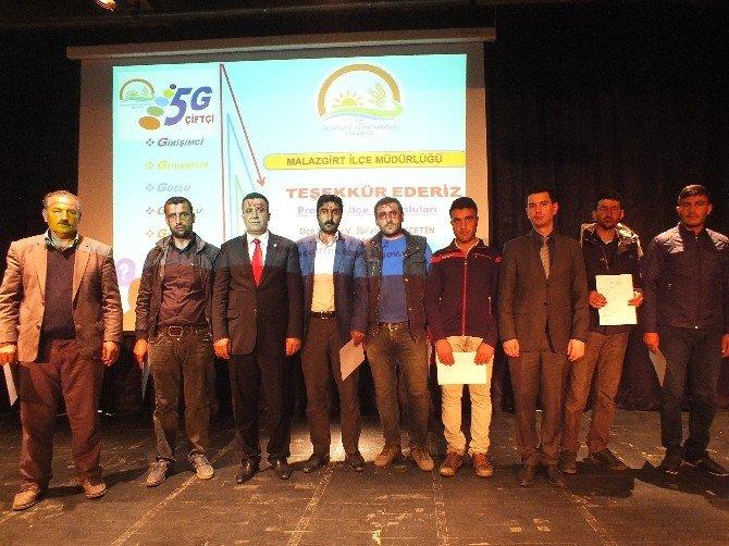 Malazgirtli Genç Çiftçilere 30 Bin Lira Hibe