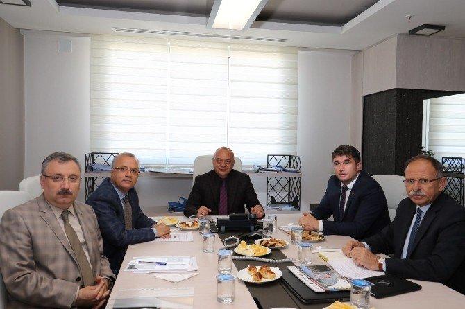 Manisa'da Jeopark Belediyeler Birliği Toplantısı Yapıldı