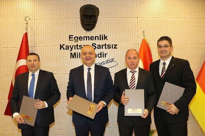 Manisa Büyükşehir'den Kardeşlik Ve Kültür Anlaşmaları