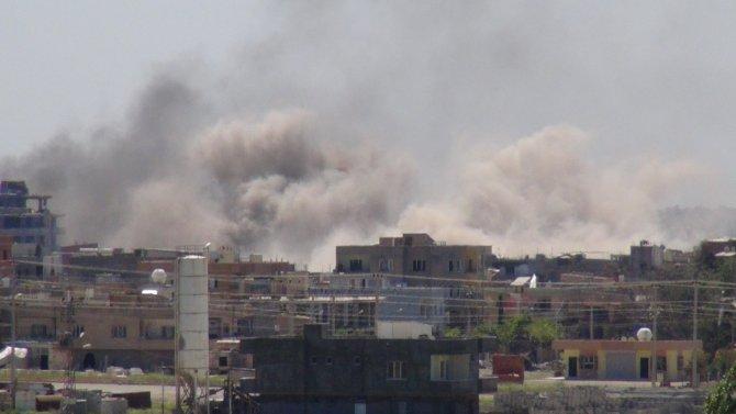 Nusaybin'de şiddetli patlamalar meydana geldi