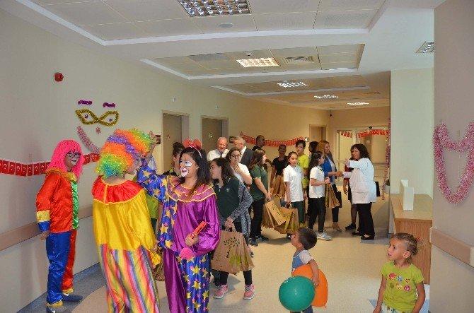 Nazilli Devlet Hastanesinde 23 Nisan Erken Kutlandı