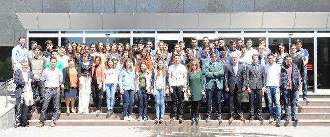 Koleji Öğrencileri, Sanko Üniversitesini Ziyaret Etti