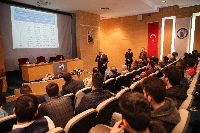 Bayburt'ta 'Para Nasıl Kazanılır' Konferansı