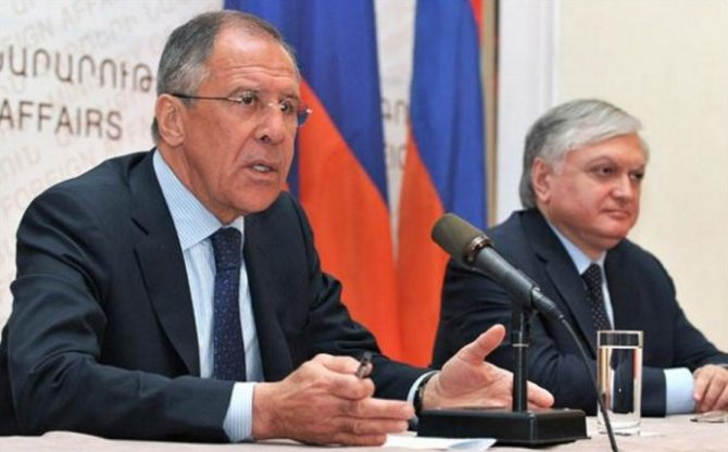 Lavrov: Dağlık Karabağ sorunu diplomatik yollarla çözülmeli