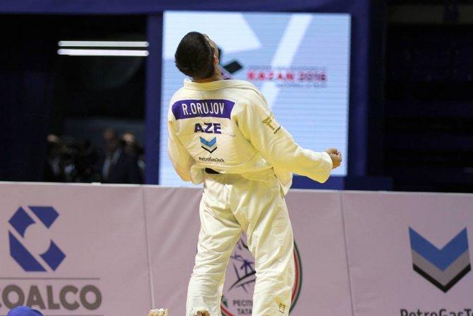 Judo'da Azerbaycanlı sporcu altın madalya kazandı