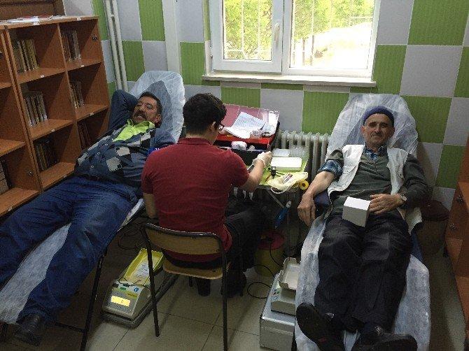 Çarşamba Gülören'de Rekor Kan Bağışı