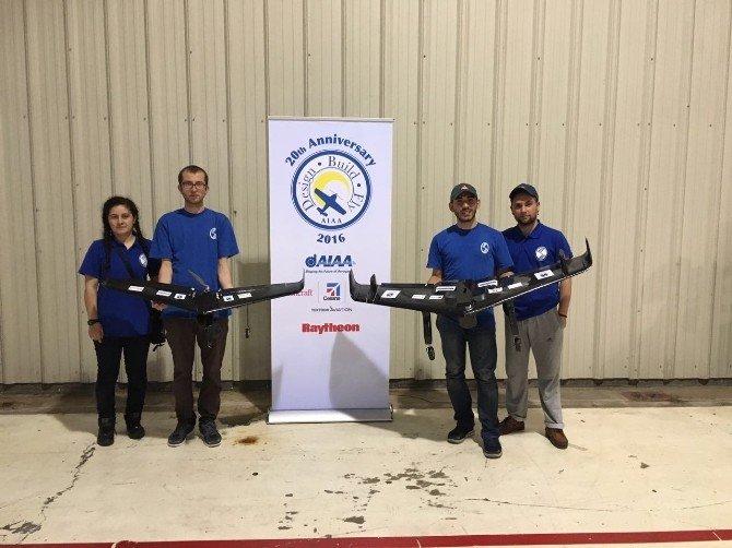 Sau-fly Ekibinin Tasarladığı Hava Aracı 'Tuğrul' ABD'de Yarıştı
