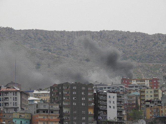 Teröristler 112 Acil Komuta Merkezi'nin Çevresine Patlayıcı Tuzakladı