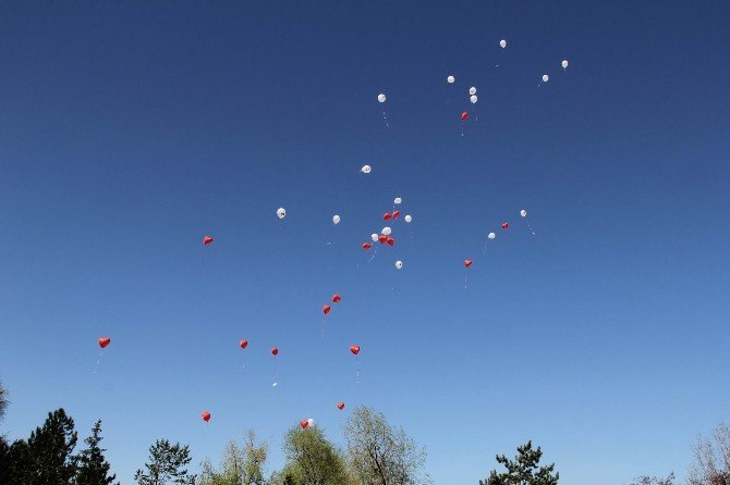 Dileklerini Yazdıkları Balonları Gökyüzüne Bıraktılar