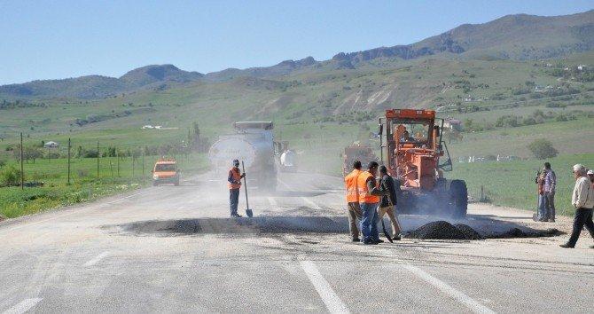 Patlamanın Yaşandığı Tunceli-elazığ Karayolu Ulaşıma Açıldı