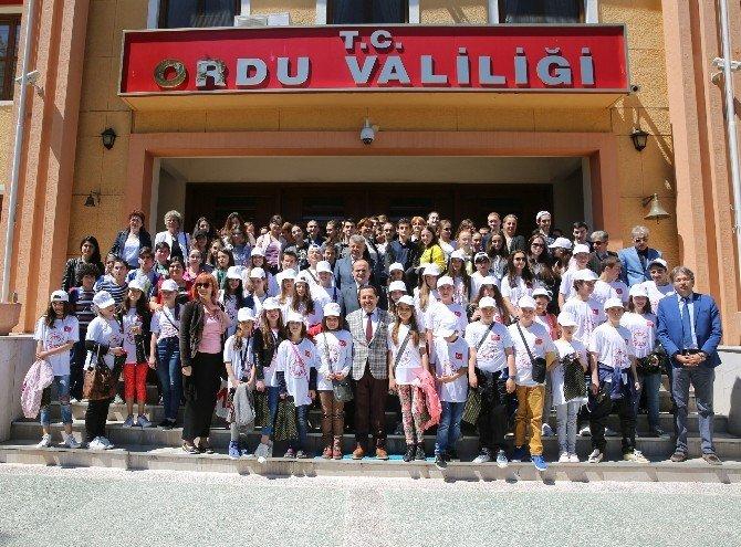 4 Ülkeden 48 Öğrenci Ordu'da