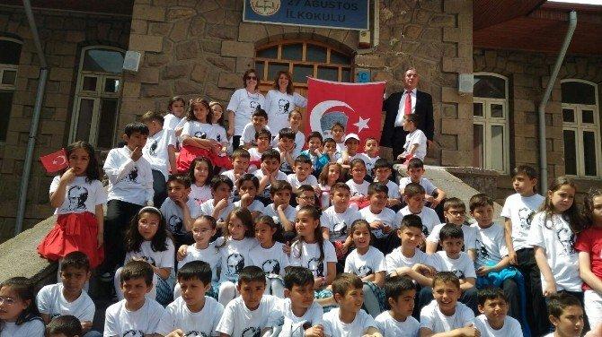 Afyonkarahisar'da 23 Nisan Okullarda Da Kutlandı