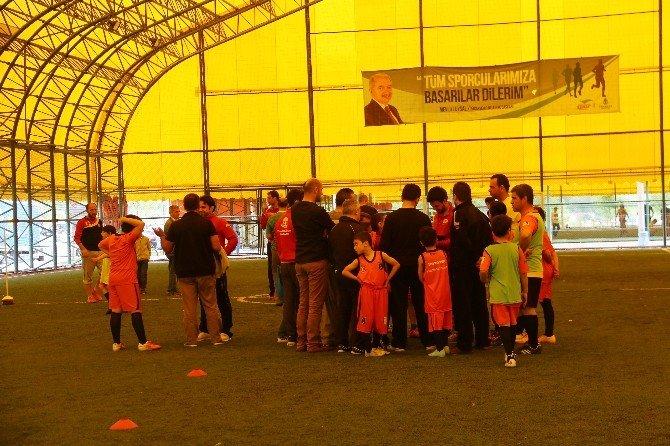 Başakşehir 23 Nisan'ı Sporla Kutladı