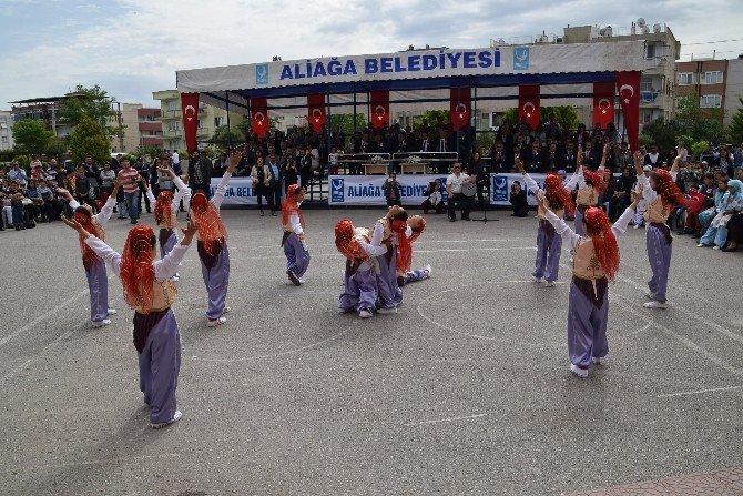 Aliağa'da 23 Nisan Törenlerle Kutlandı