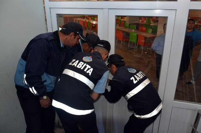 Aksaray'da Paralel Yapının Dershane, Okul Ve Yurtlarına, Yıkım Ve Mühürleme