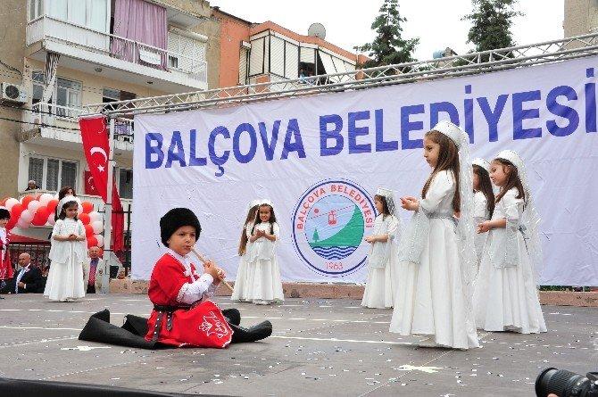 Balçova'da Coşkulu 23 Nisan Kutlamaları