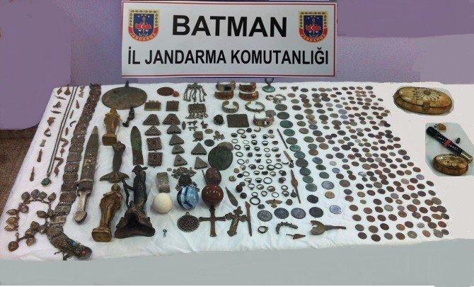 Batman'da Tarihi Eser Kaçakçılığı