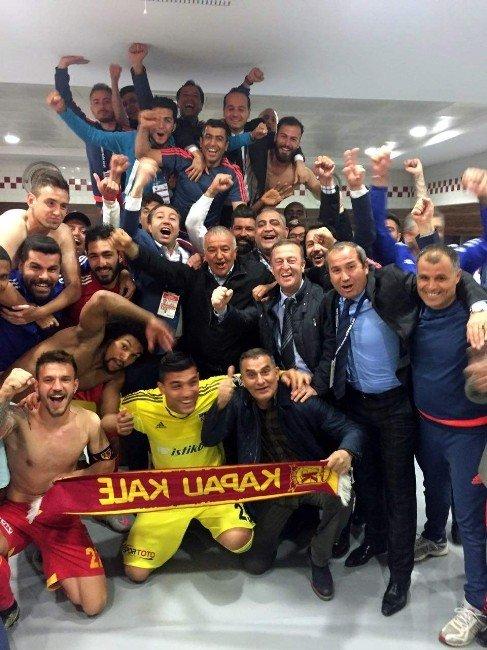 Kayserispor'da Galibiyet Sevinci