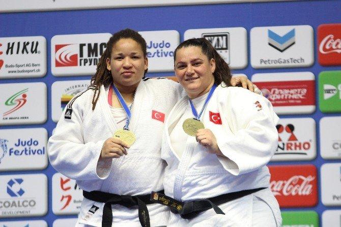 Judoda Bir Altın Bir Bronz