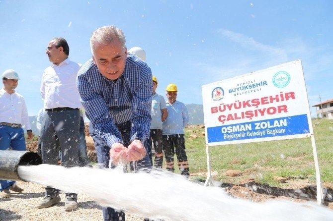 Başkan Zolan, Alt Yapı Çalışmalarını Yerinde İnceledi