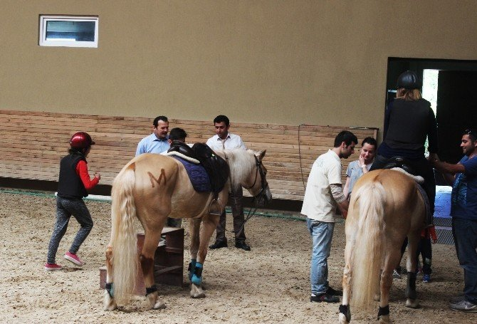 Çocuklar Atlarla Tanıştı