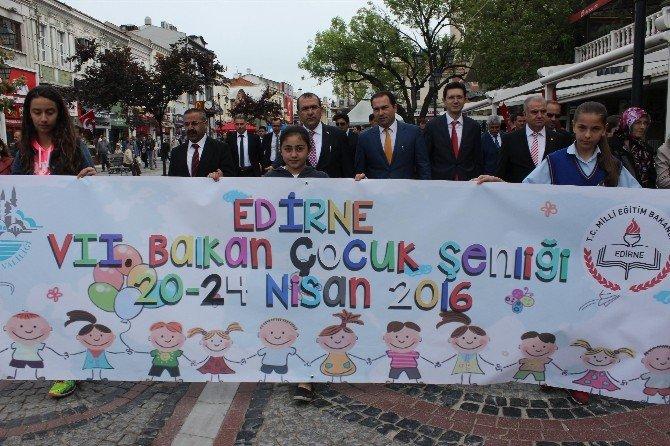 Edirne'de 23 Nisan Etkinliklerle Kutlandı