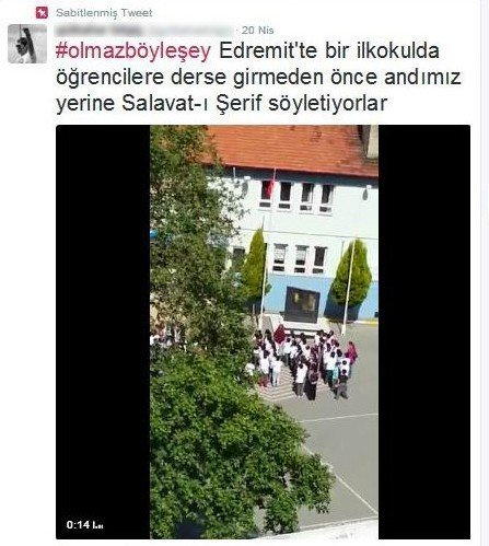 """AK Parti'den, CHP'li Kadının """"Andımız Gitti, Salavat Geldi"""" Paylaşımına Tepki"""