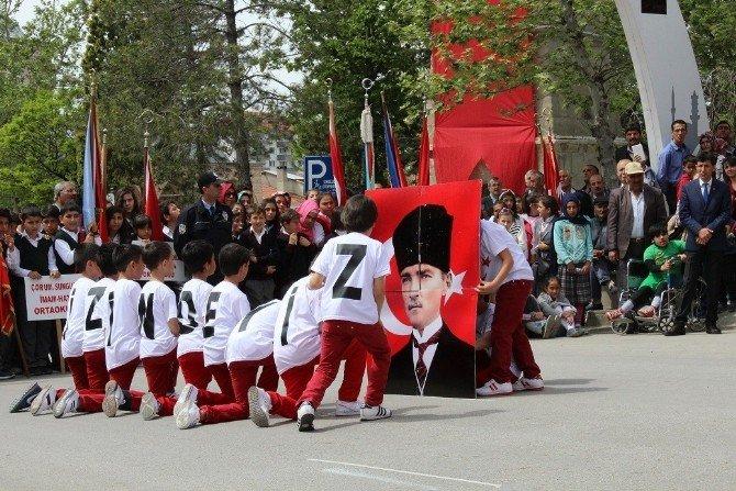 Sungurlu'da 23 Nisan Coşkuyla Kutlandı