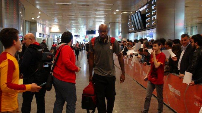 Galatasaray Odeabank, İstanbul'a geldi