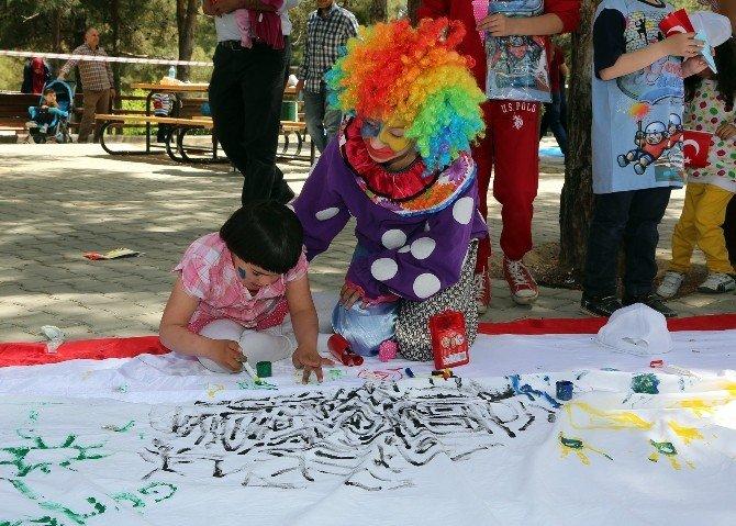 Özel Çocuklar Dülük Tabiat Parkı'nda Buluştu