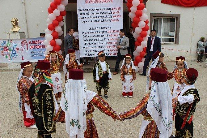 Hisarcık Beşevler Köyünde 23 Nisan Kutlaması